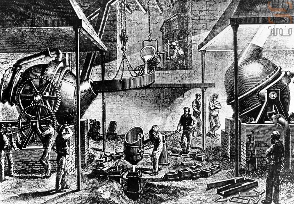 تاریخچه تولید فولاد